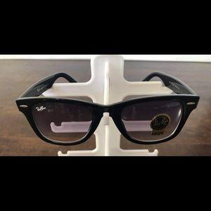 Tinted Rayban wayfarer sunglasses
